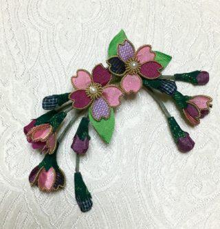 髪飾り(桜)