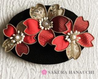 桜の髪飾り1
