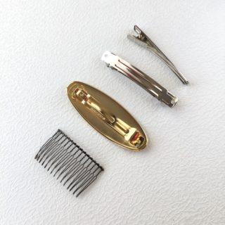 髪飾り金具
